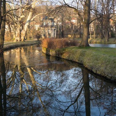 Englischer Garten Dresden by Abendstimmung Im Winterlichen Schlosspark Pillnitz
