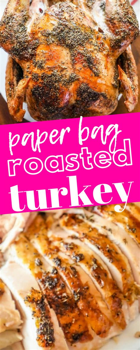 turkey bag roasted brown herb sweet paper recipe easy connect