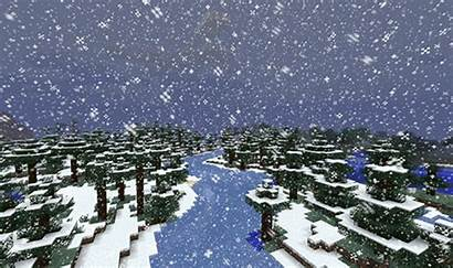Snow Minecraft Weather Games Gifs Gaming Let
