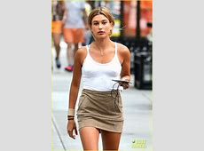 Hailey & Ireland Baldwin Spotted Out Separately on Sunday