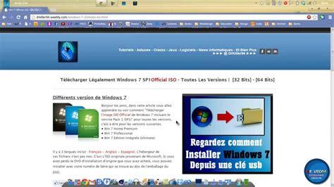 télécharger officiel de windows iso