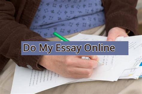 Do My Essay Online | Just Question Answer | Homework and ...