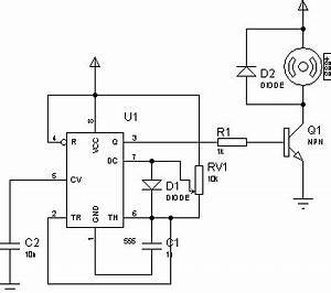 control motor pwm schematic do it easy with scienceprog With above fig 2 a wiring diagram of a for ward and reverse jogging