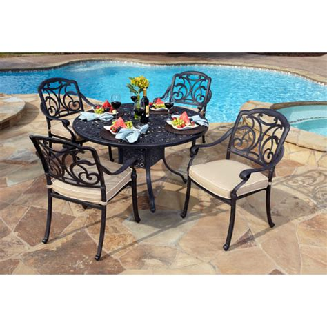 san paulo 5 patio dining set 187 welcome to costco