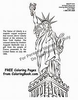 Liberty Statue Coloring Pages Printable Books Coloringbook Cliparts Sheets Manufacturer Inc Really Statueofliberty Getcoloringpages sketch template