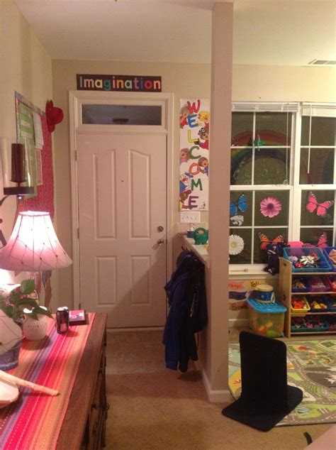 home childcare small space setup home childcare
