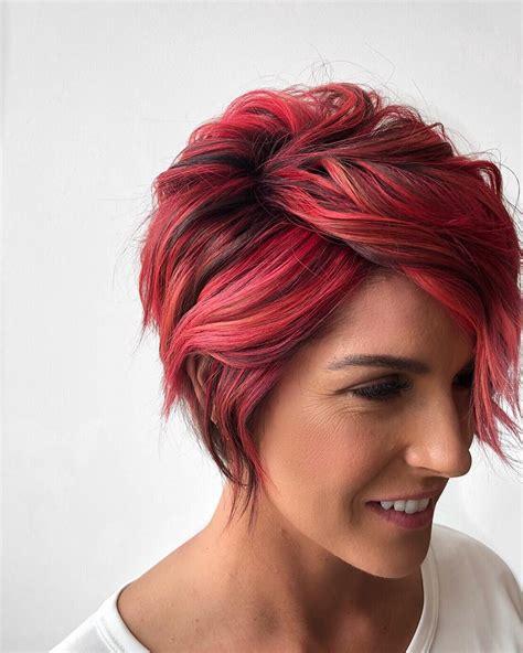 trendy low maintenance short layered hairstyles 2019