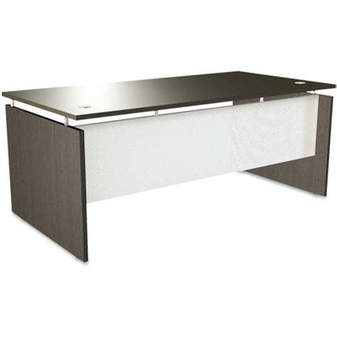 reversible laminate l shape office desk w floating top