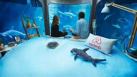 chambre air airbnb et l aquarium de vous offrent une nuit avec
