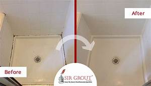 an outstanding caulking service restored this moldy shower With bathroom caulking service