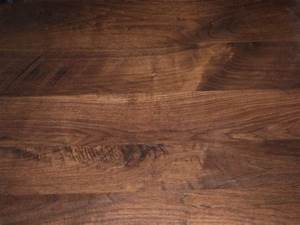 Rustic black walnut table top detail patterns