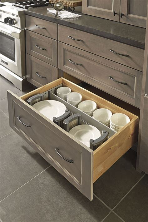dish holder for kitchen cabinet drawer dividers and plate holders decora cabinetry 8736