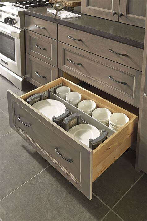 Drawer Dividers and Plate Holders   Decora Cabinetry
