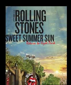 The Rolling Stones Return to Hyde Park: Sweet Summer Sun Logo