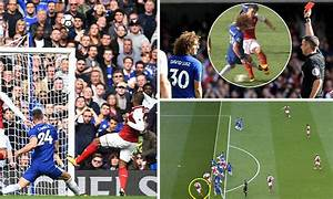 Chelsea 0-0 Arsenal: David Luiz sees red in London derby ...