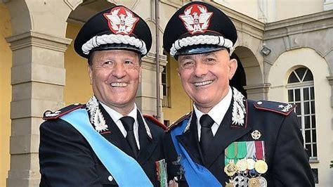 carabinieri il generale mossa nuovo comandante della