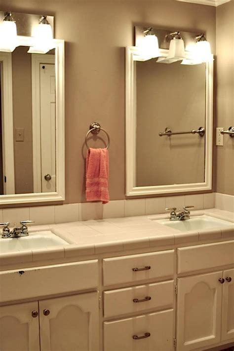 girls shared bathroom    colorful update hgtv