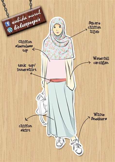 casual muslimah fashion  hamzahinsancita  deviantart