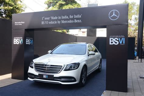 Mercedes Rolls-out India's First Bs-vi Compliant Vehicle