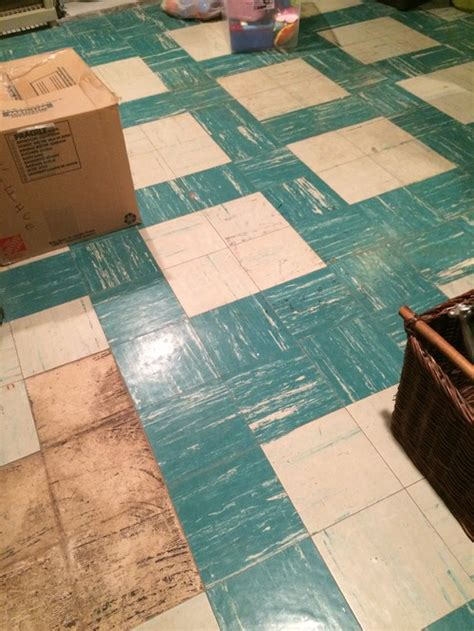 covering asbestos floor tiles basement asbestos tile floor in basement