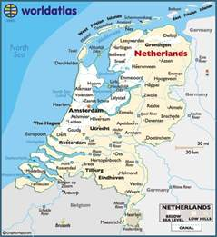 map  netherlands holland travel places weve