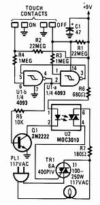 index 1420 circuit diagram seekiccom With touch switch ii