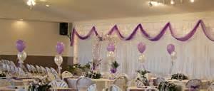 salle de rã ception mariage decoration de salle de mariage avec ballon
