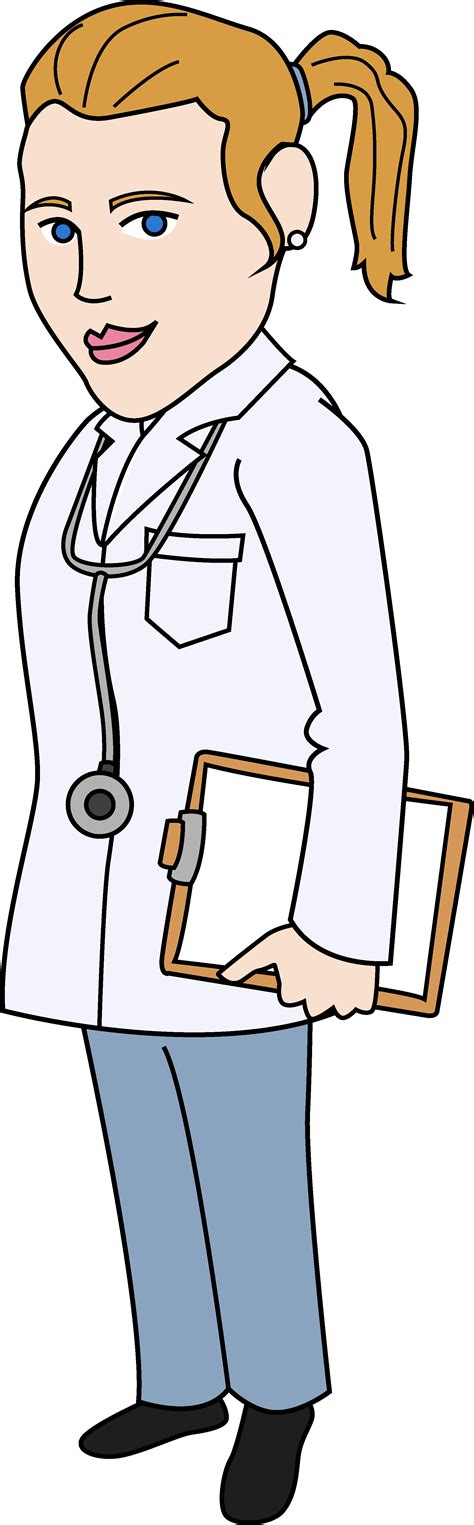 Clipart Doctor Doctor Clip Illustration Free Clip
