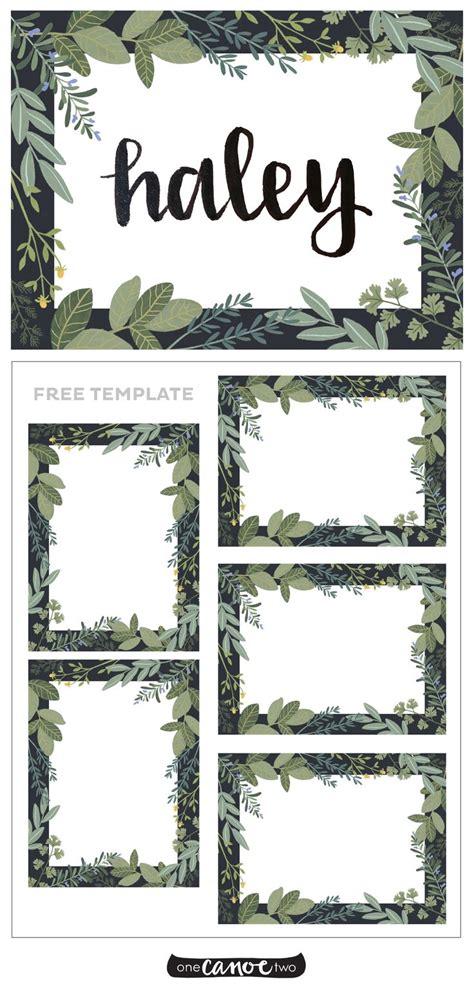 place card template ideas  pinterest diy