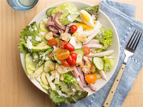 chef salad hearty diner dinner salads food network recipes dinners and easy meal ideas food network