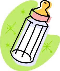Cartoon Baby Bottle Clip Art