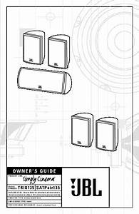 Jbl Scs 135 Sat User Guide    Operation Manual  U2014 View