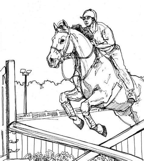 Springend Paard Kleurplaat kleurplaat kleurplaat paard 23 10086 kleurplaten