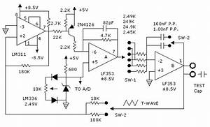 Electronic Circuit Schematic For Capacitance Meter  Free