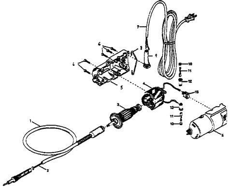flex shaft schematic flexible shaft dremel dremel tool and rotary tool
