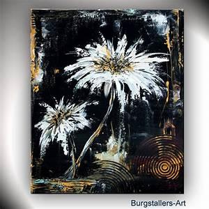 Bilder Acryl Modern : burgstaller abstrakt acrylbild original blumen bild modern malerei dance flowers ebay ~ Sanjose-hotels-ca.com Haus und Dekorationen