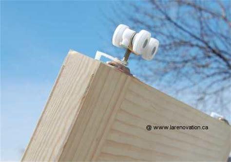 comment faire une porte coulissante comment fabriquer une porte coulissante comment fabriquer porte coulissant sur enperdresonlapin
