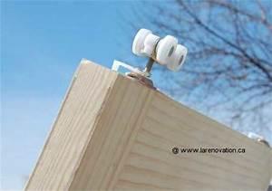 Comment Monter Une Porte Coulissante : comment installer une porte coulissante ~ Melissatoandfro.com Idées de Décoration