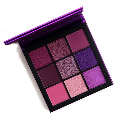 huda beauty amethyst obsessions eyeshadow palette review