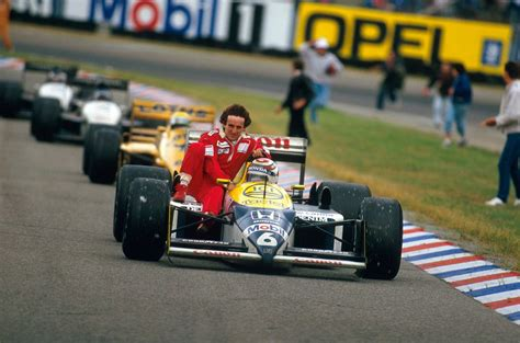 Alain Prost | Nelson Piquet (Germany 1987) by F1-history ...