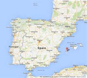 Where Is Ibiza in Spain Map