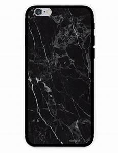 Coque Pour Iphone 6 : coque effet marbre noir pour iphone 6 6s ~ Teatrodelosmanantiales.com Idées de Décoration