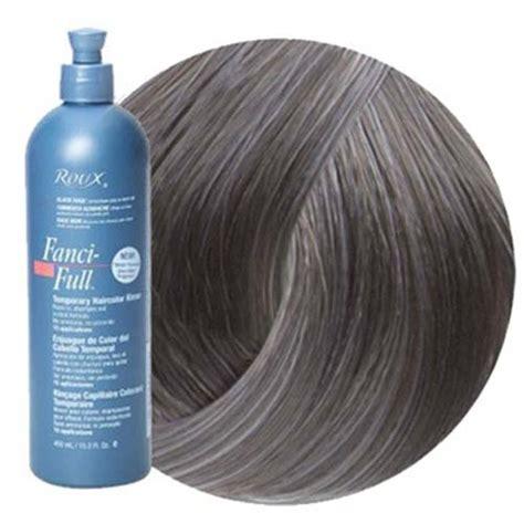 roux hair color roux fanci rinse 41 true steel 15 oz rouxhair