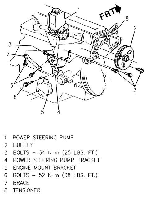 1980 Honda Accord Belt Diagram by Can Not Find All Bolts On Power Steering On 1990 Chevy