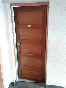 remplacement porte d39entree jchamblas With prix remplacement porte d entrée