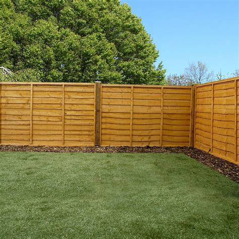 6ft Fence Panels With Trellis by 4ft X 6ft Waltons Garden Wooden Fence Panels Waltons