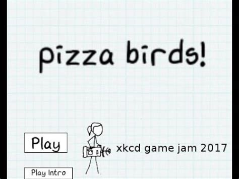 Xkcd Bird Pizza Birds Gameplay Trailer Xkcd Game Jam Submission