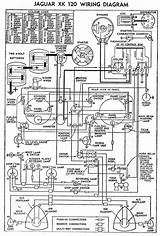 1954 Jaguar Xk120 Wiring Diagram Schematic