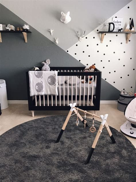 monochrome zoo nursery project nursery