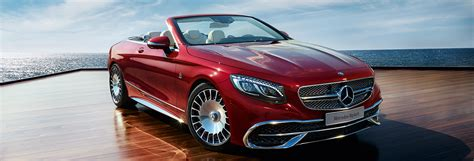 The New Mercedes-maybach S 650 Cabriolet